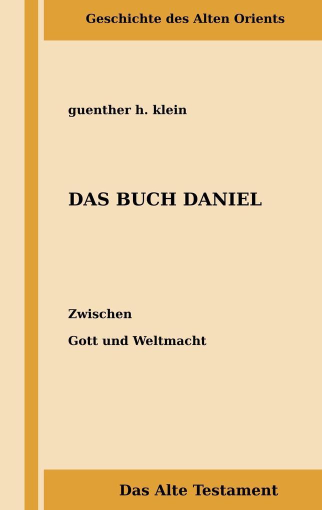 Das Buch Daniel als Buch (gebunden)