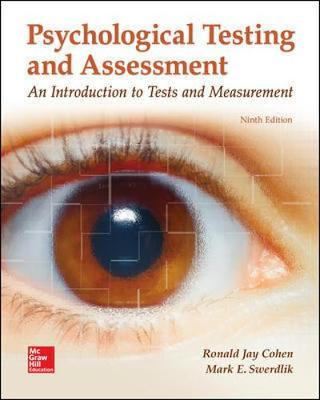 Psychological Testing and Assessment als Buch (gebunden)