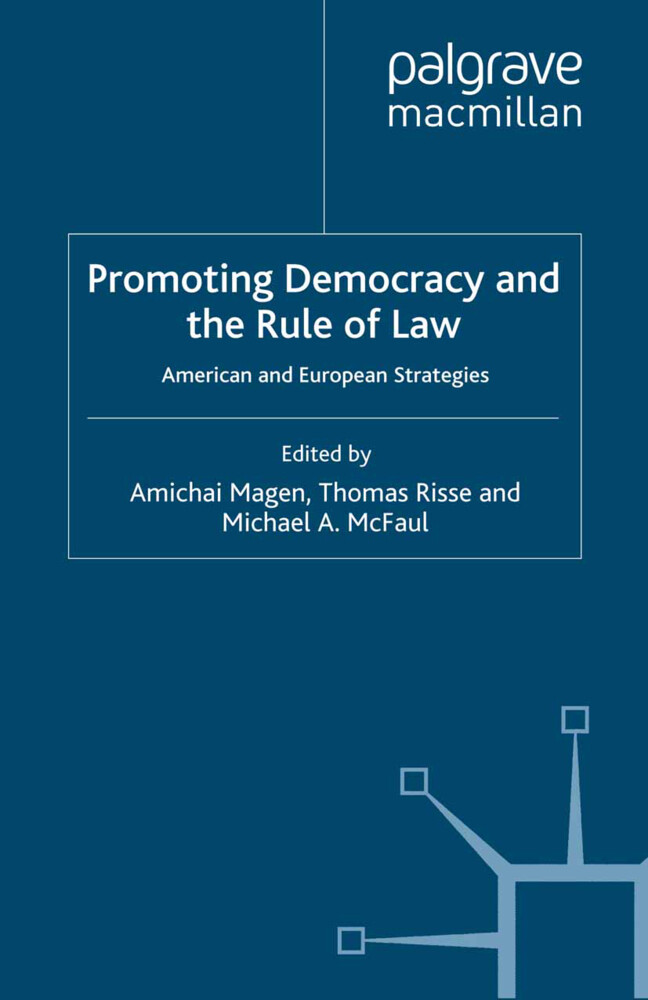 Promoting Democracy and the Rule of Law als Buch (gebunden)