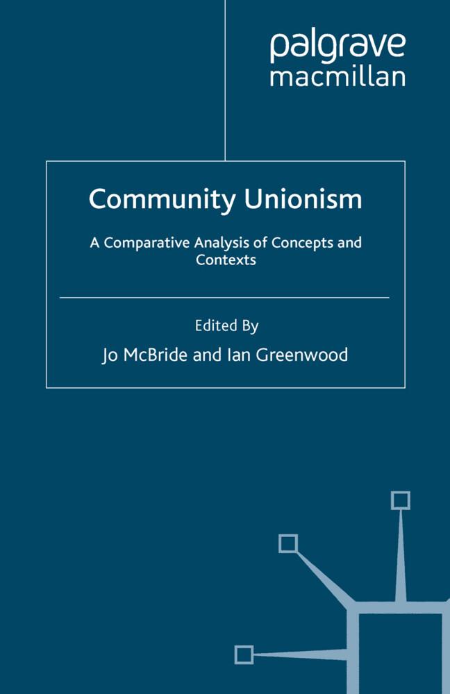 Community Unionism als Buch von