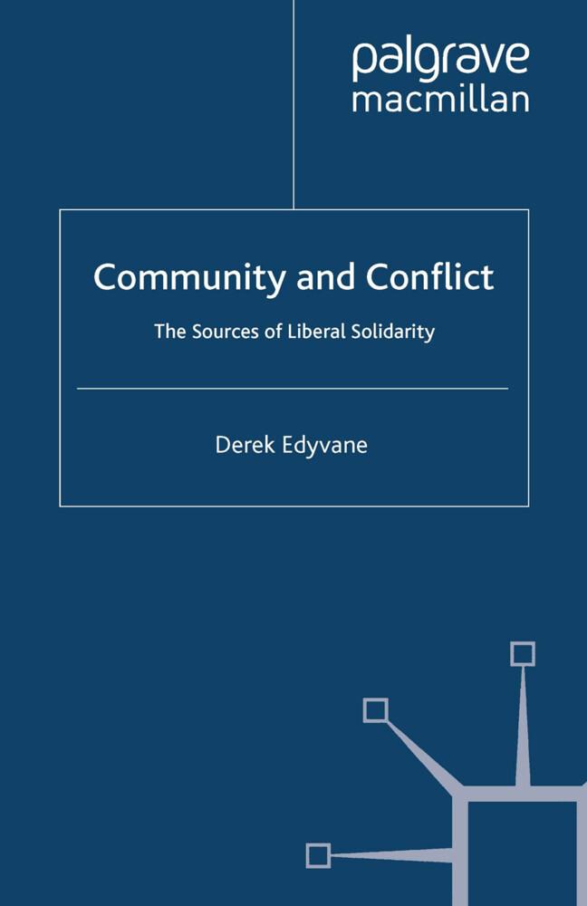Community and Conflict als Buch von D. Edyvane