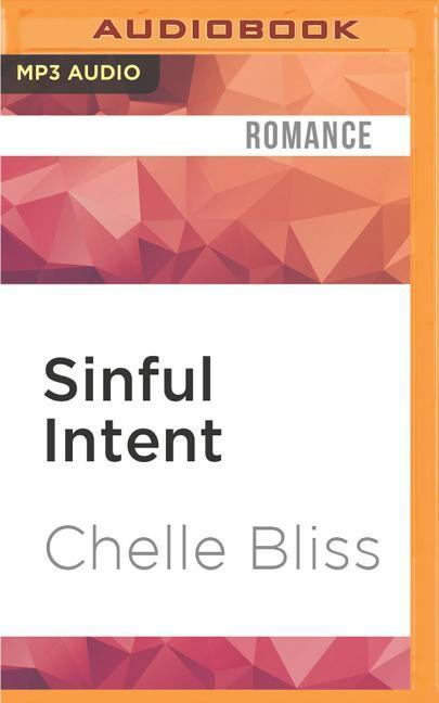 Sinful Intent als Hörbuch CD