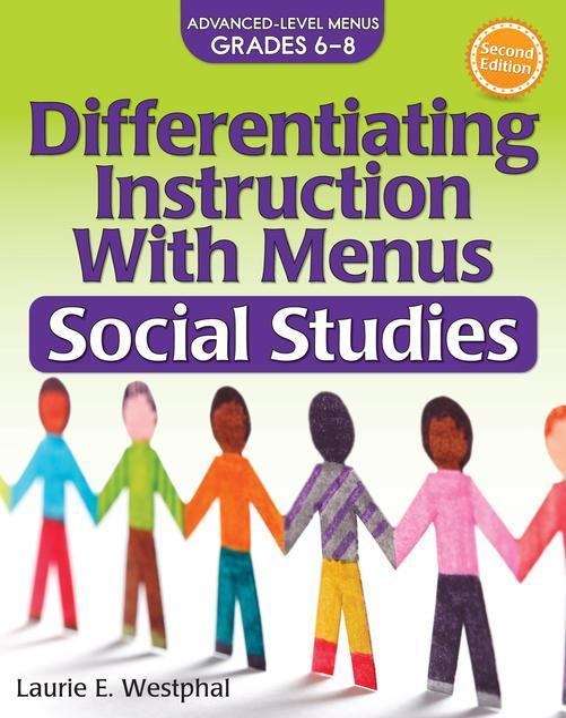 Differentiating Instruction with Menus: Social Studies (2nd Ed.): Advanced Level Menus Grades 6-8 als Taschenbuch