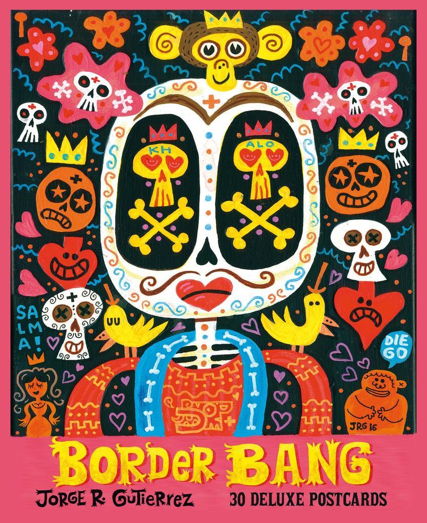 Border Bang: 30 Deluxe Postcards als Buch (gebunden)