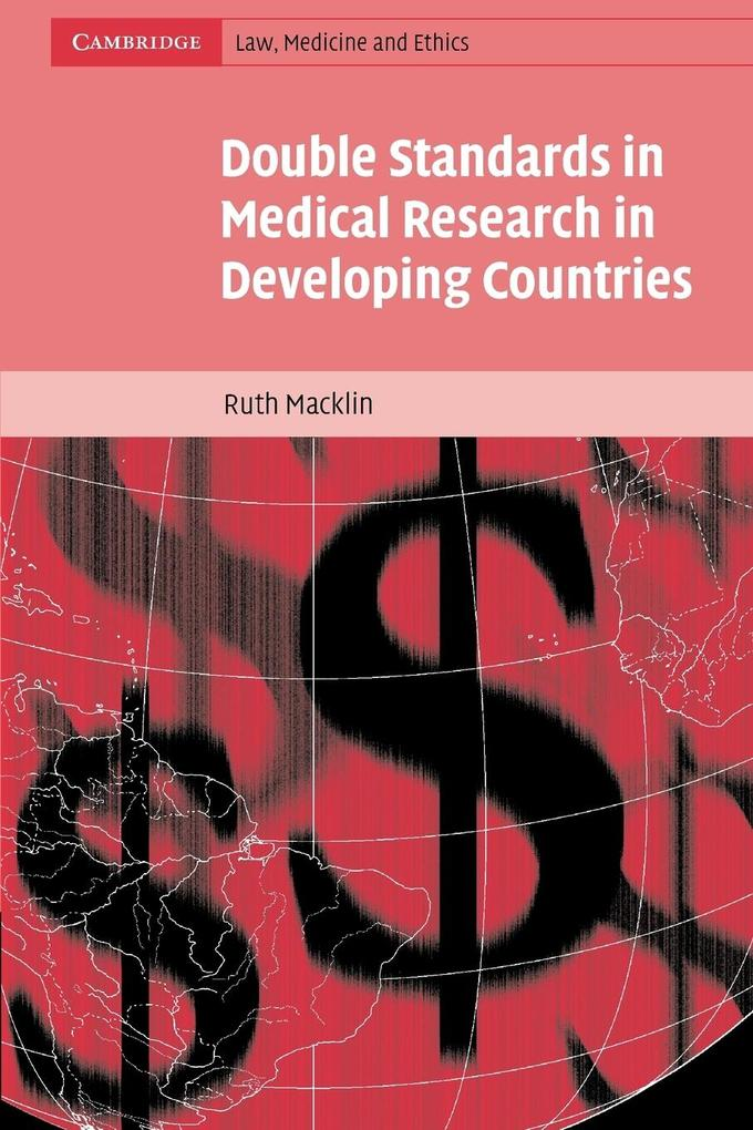 Double Standards in Medical Research in Developing Countries als Taschenbuch
