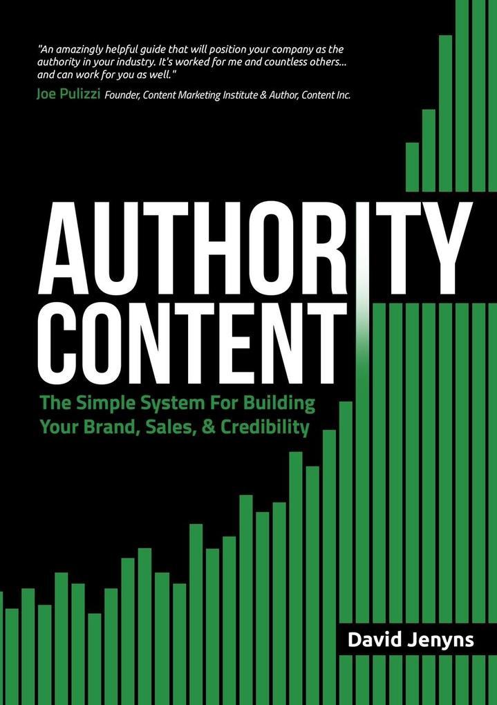 Authority Content als Buch von David Jenyns