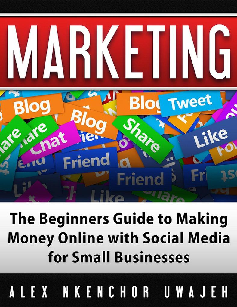 Marketing: The Beginners Guide to Making Money Online with Social Media for Small Businesses als eBook epub