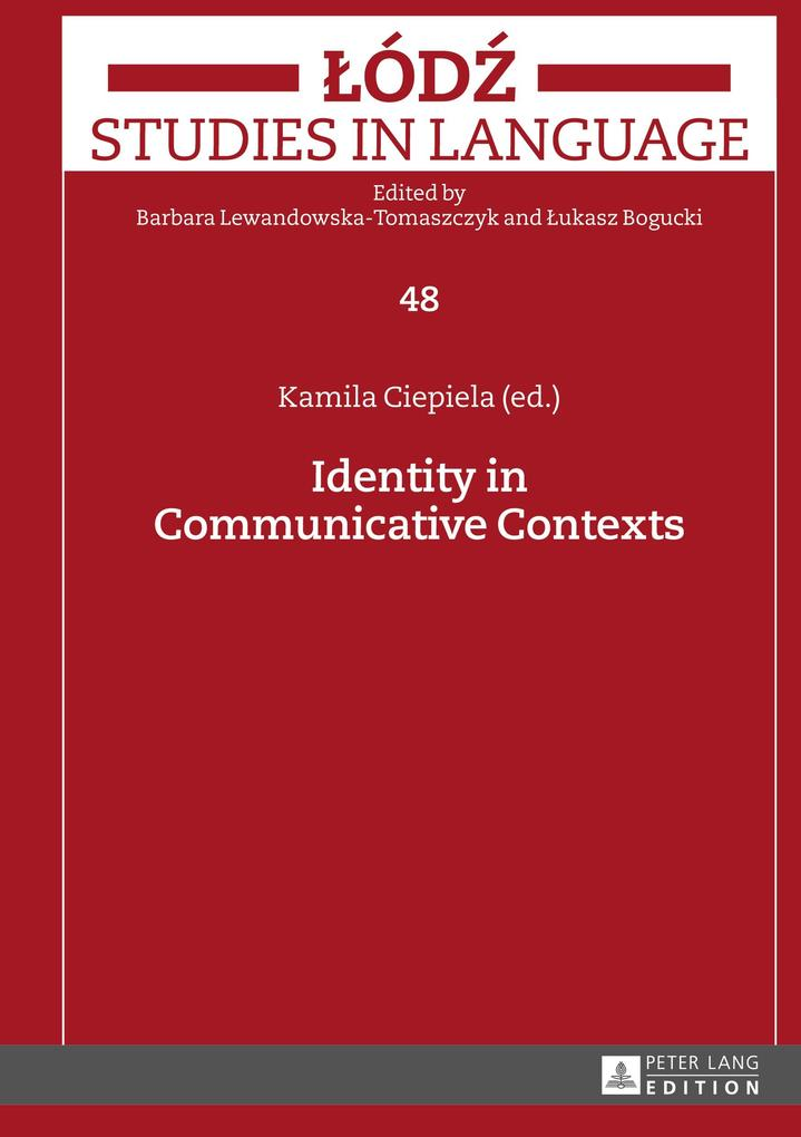 Identity in Communicative Contexts als Buch von