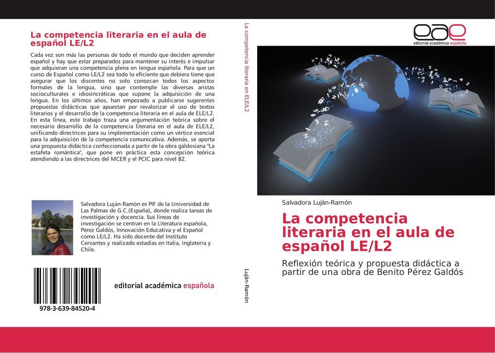 La competencia literaria en el aula de español LE/L2 als Buch (gebunden)