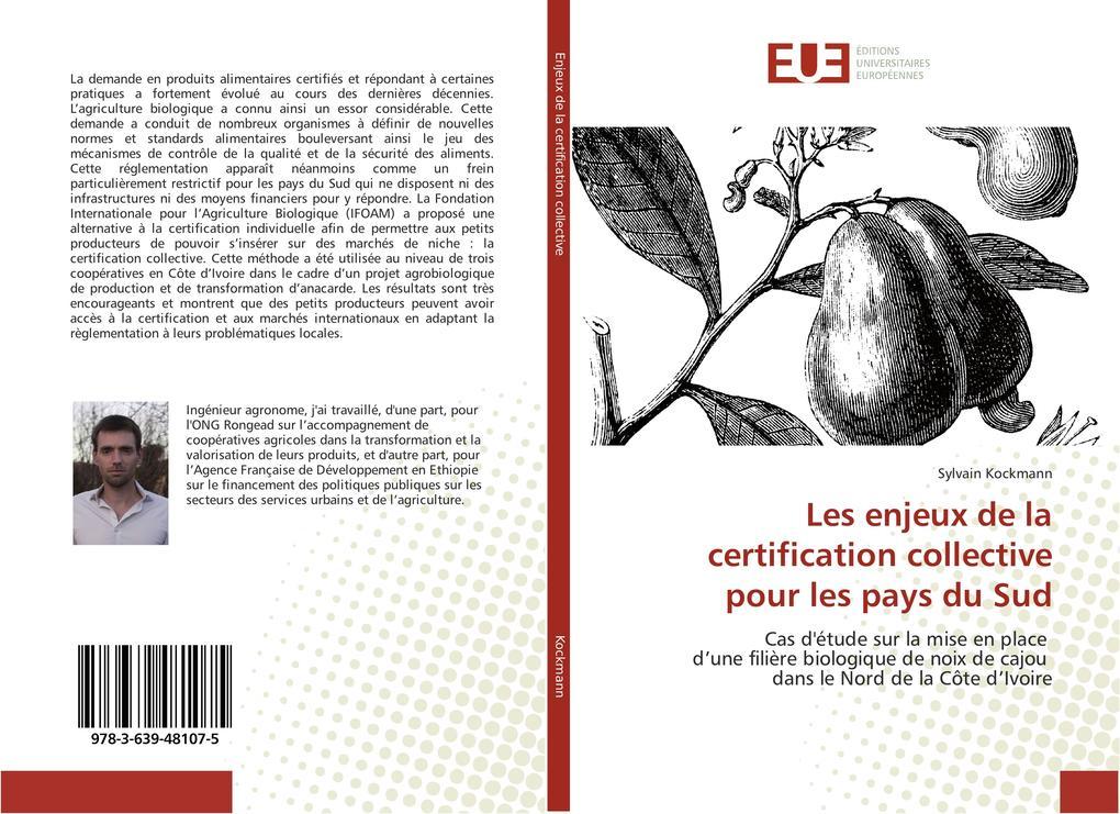 Les enjeux de la certification collective pour les pays du Sud als Buch (gebunden)