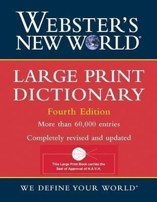 Large Print Dictionary als Buch