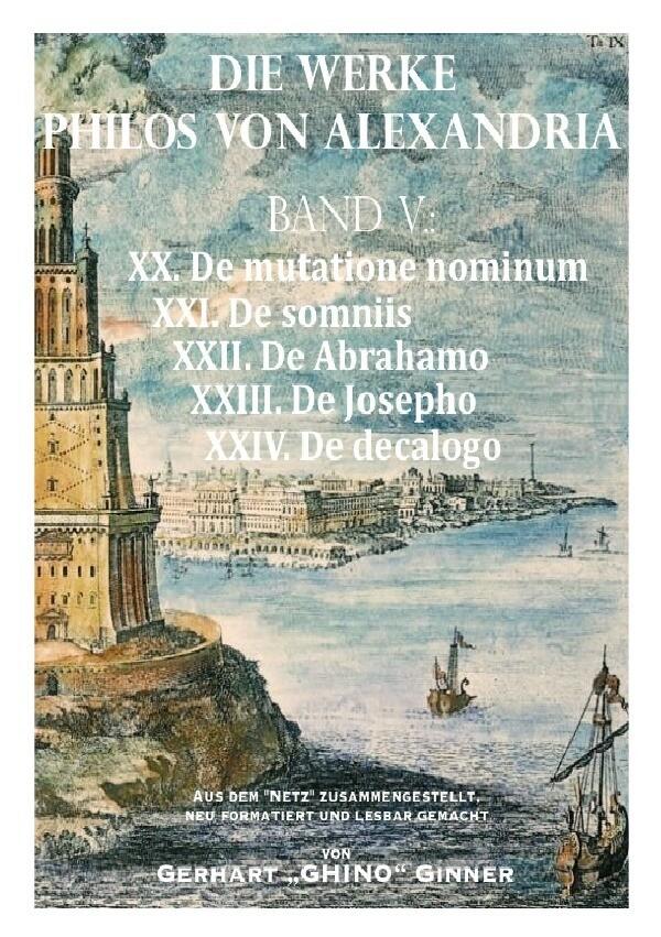 Die Werke Philos von Alexandria Band V. als Buch (kartoniert)