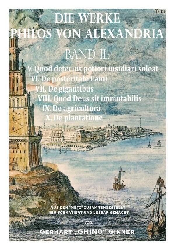 Die Werke Philos von Alexandria Band II. als Buch (kartoniert)