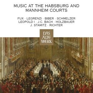 Music At The Habsburg And Mannheim Courts als CD
