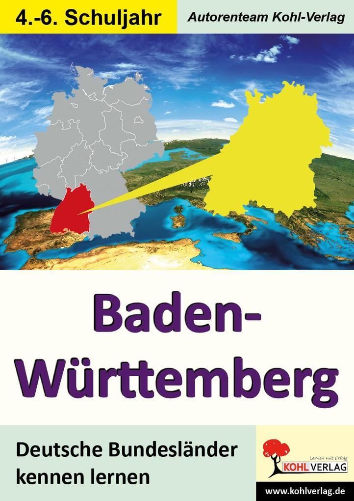 Baden-Württemberg als eBook Download von