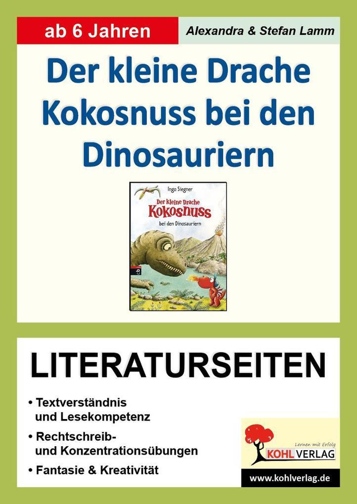 Der kleine Drache Kokosnuss bei den Dinosaurier...