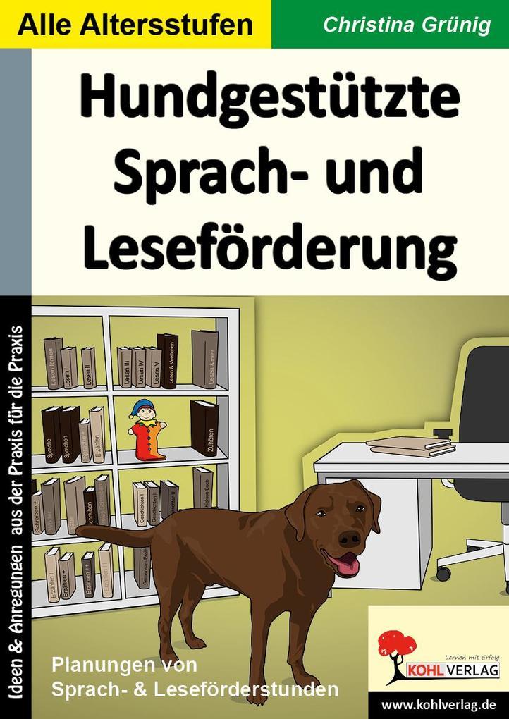Hundgestützte Sprach- und Leseförderung als eBook pdf