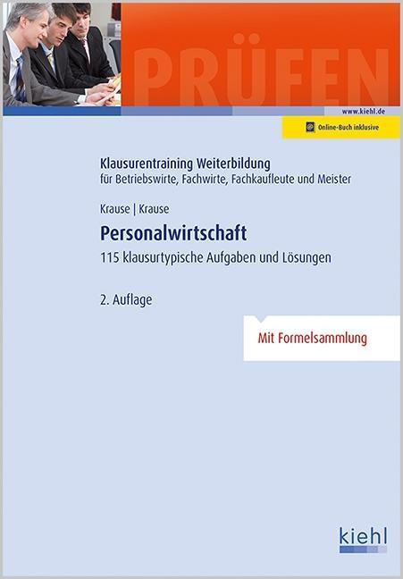 Personalwirtschaft als Buch von Günter Krause, ...