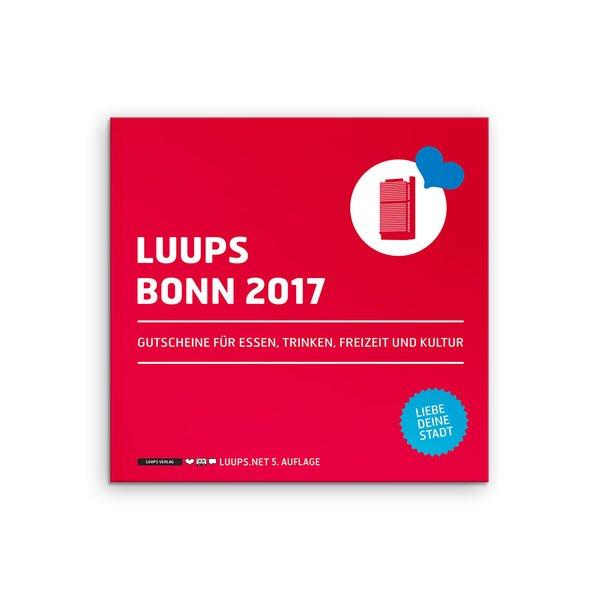LUUPS Bonn 2017 als Buch von