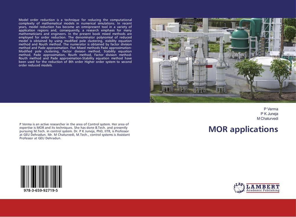MOR applications als Buch (gebunden)