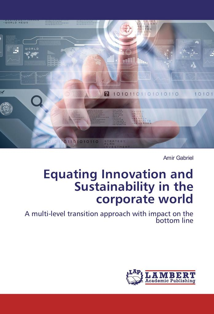 Equating Innovation and Sustainability in the corporate world als Buch (gebunden)