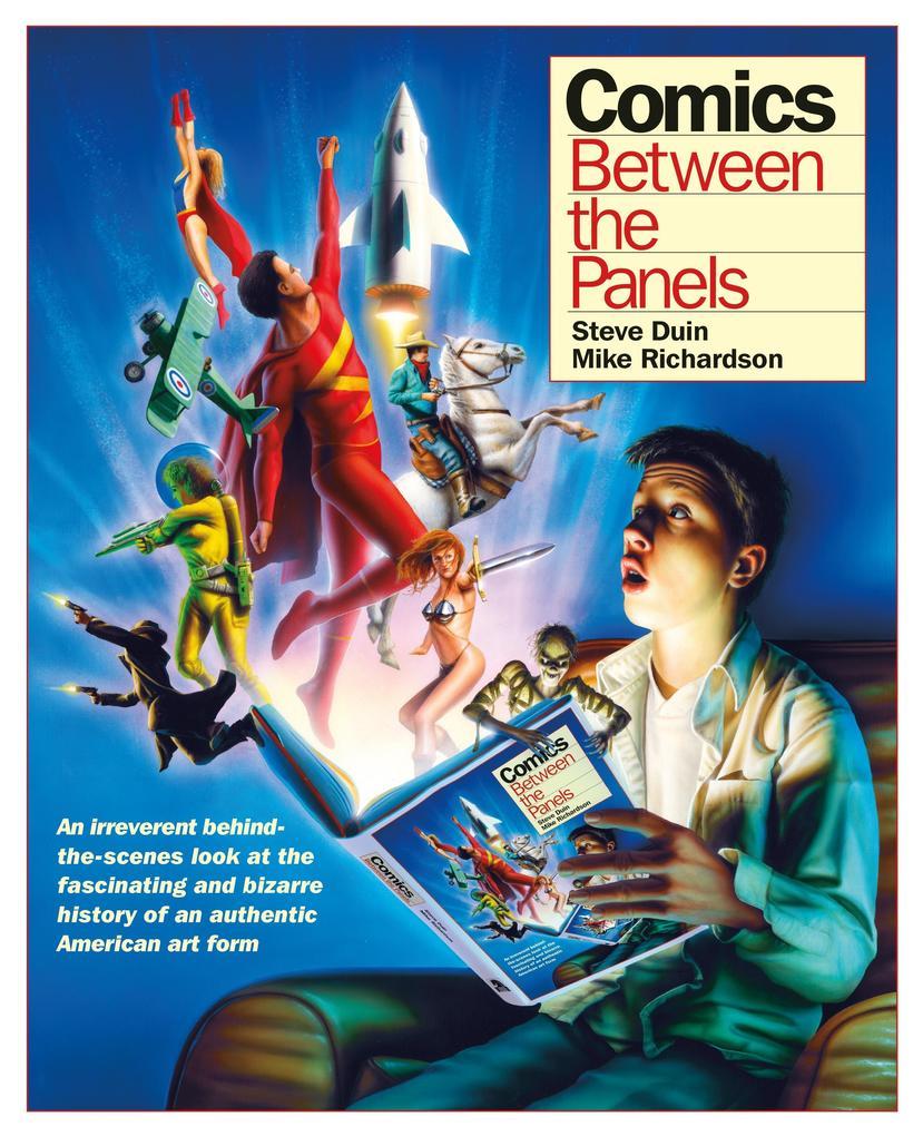 Comics: Between the Panels als Buch