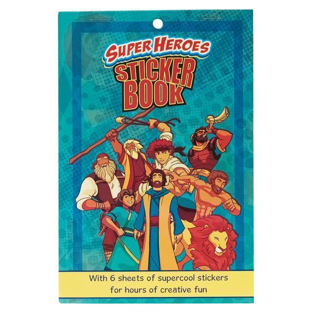 Sticker Book Super Heroes als Buch (gebunden)