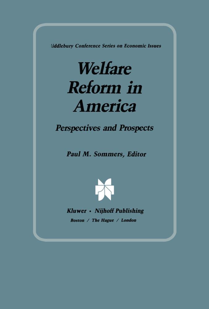 Welfare Reform in America als Buch