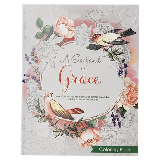 Coloring Book a Garland of Grace als Taschenbuch
