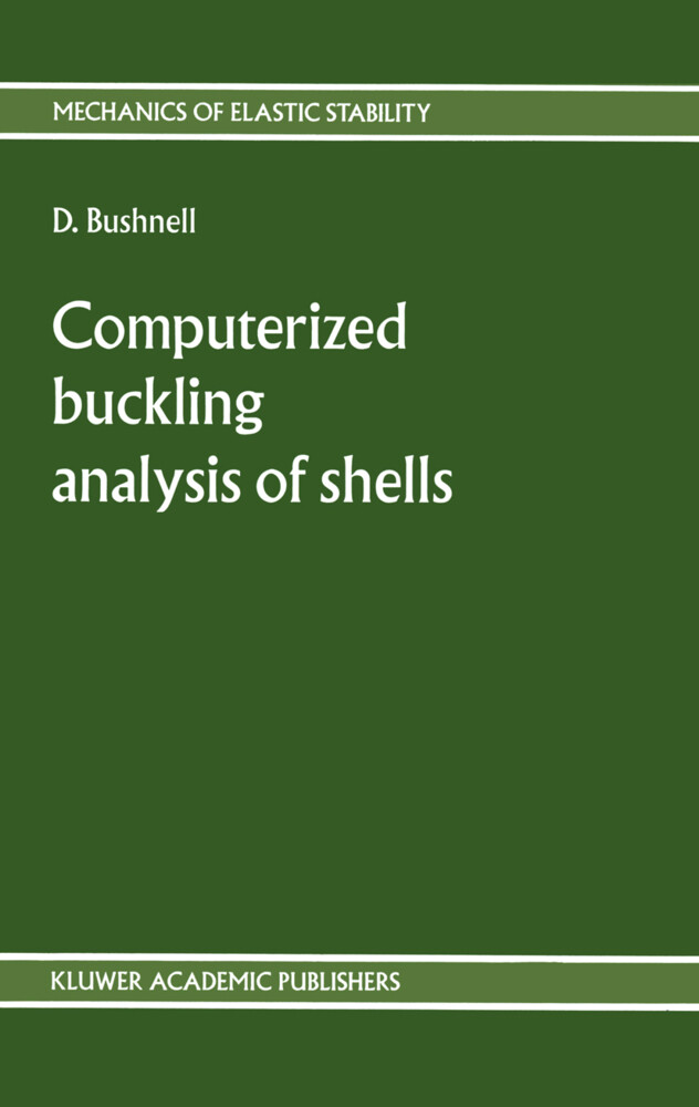 Computerized buckling analysis of shells als Buch