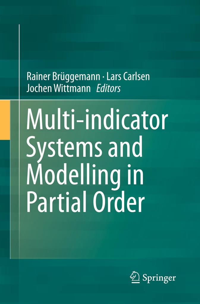 Multi-Indicator Systems and Modelling in Partial Order als Taschenbuch