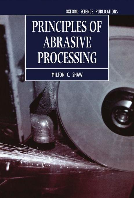 Principles of Abrasive Processing als Buch