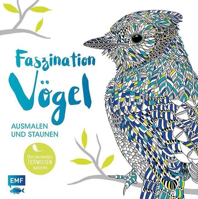 Faszination Vögel - Ausmalen und Staunen als Bu...