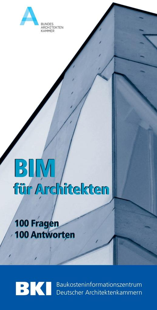 BIM für Architekten als Buch von