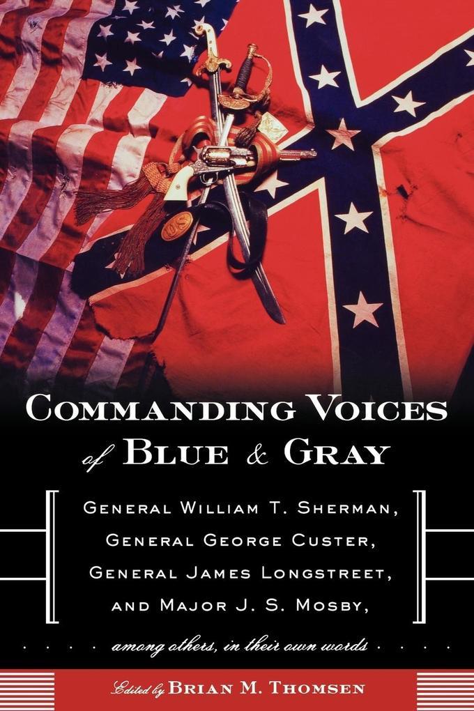 Commanding Voices of Blue & Gray als Taschenbuch