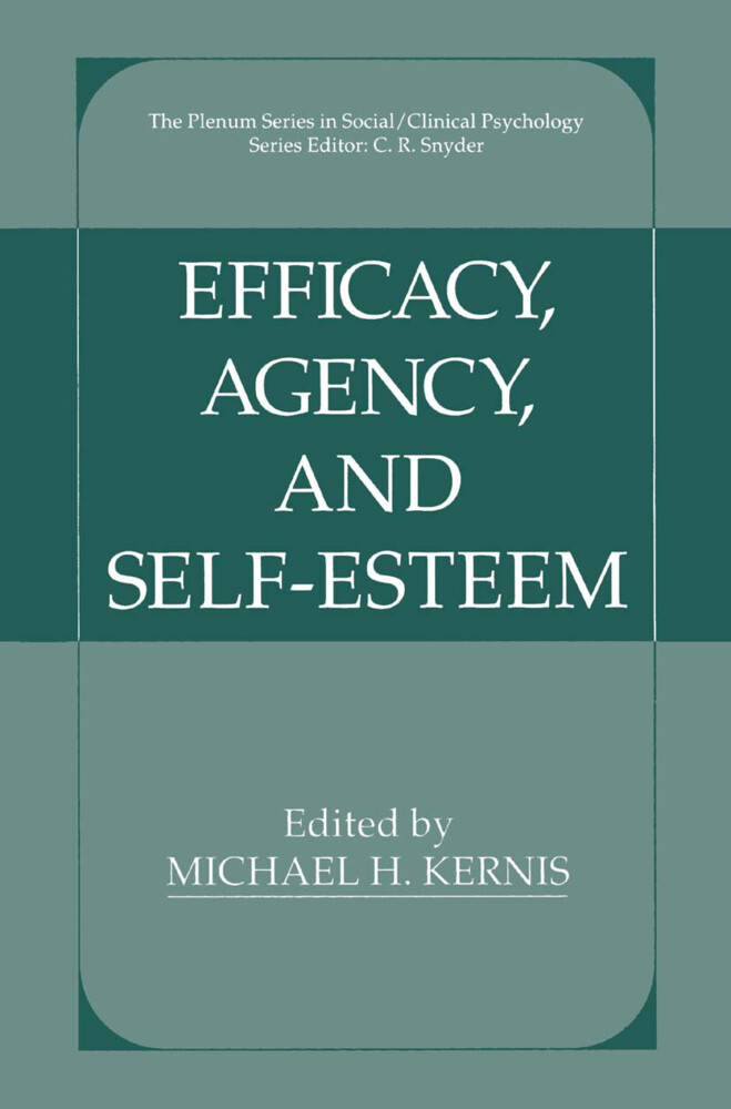 Efficacy, Agency, and Self-Esteem als Buch (gebunden)