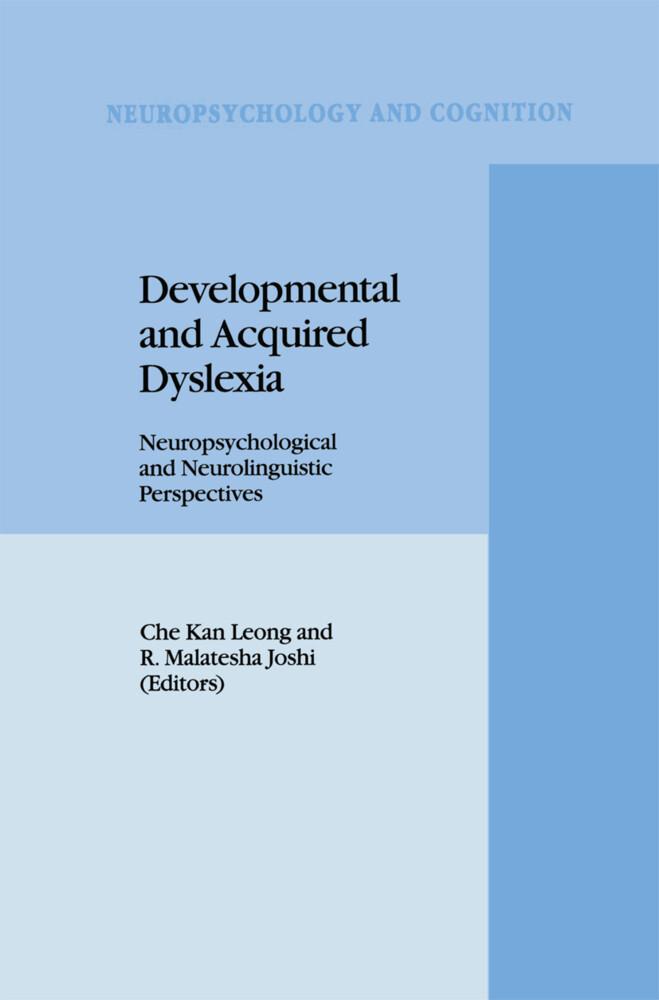 Developmental and Acquired Dyslexia als Buch