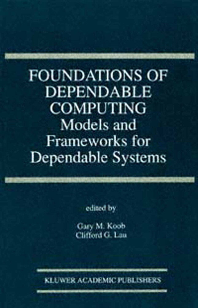 Foundations of Dependable Computing als Buch
