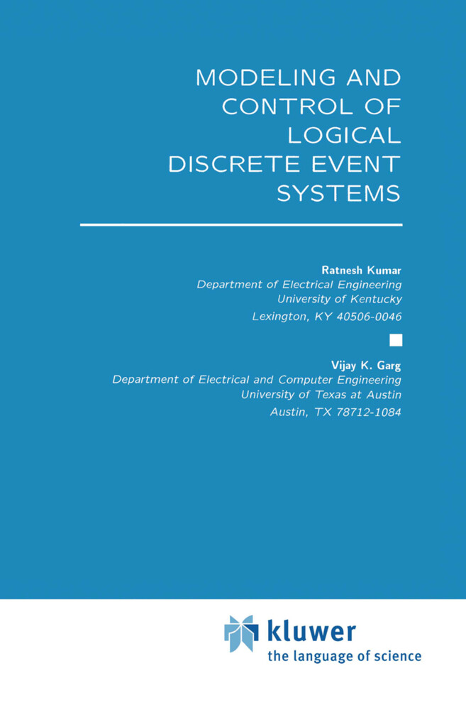Modeling and Control of Logical Discrete Event Systems als Buch