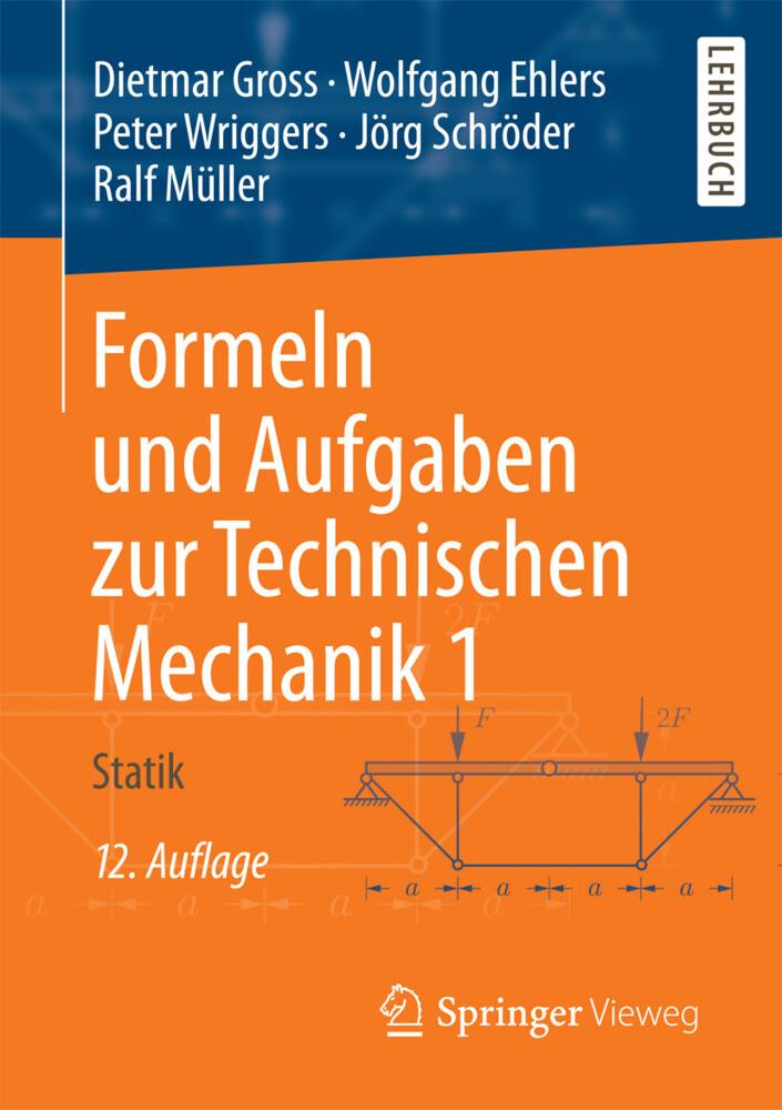 Formeln und Aufgaben zur Technischen Mechanik 1 als Buch