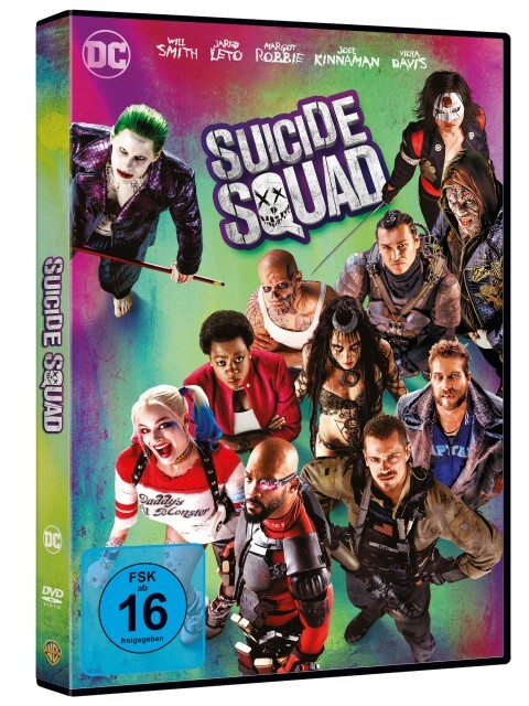 Suicide Squad als DVD