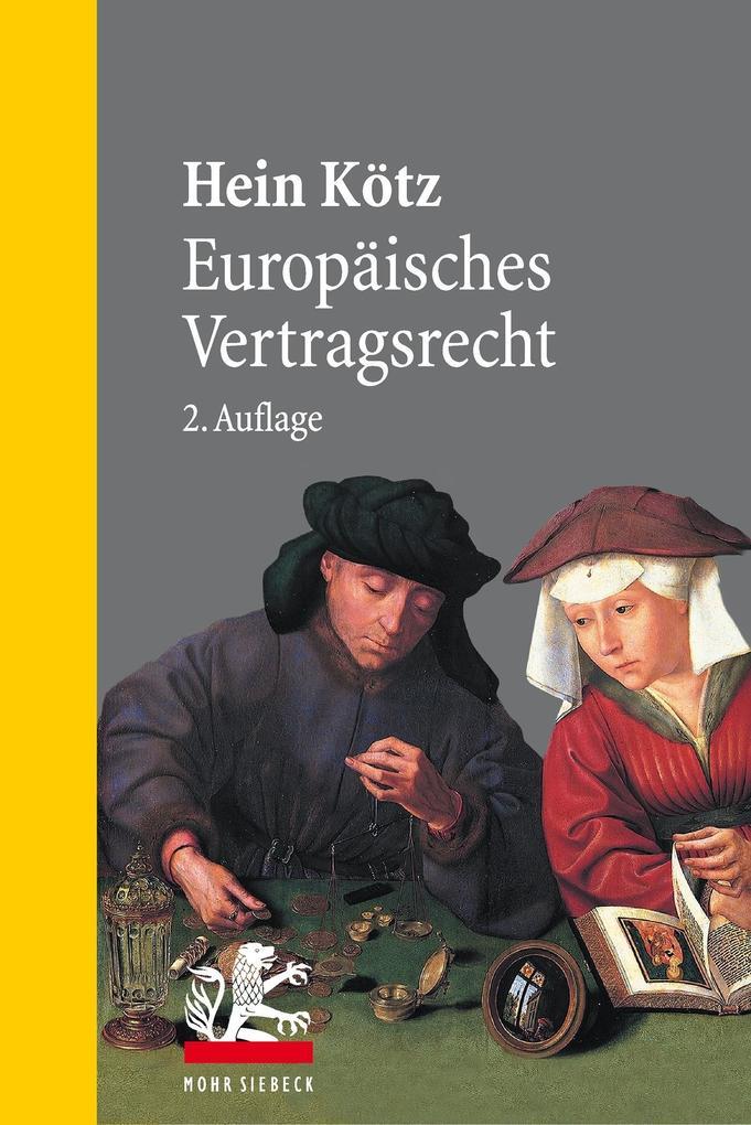 Europäisches Vertragsrecht als eBook pdf
