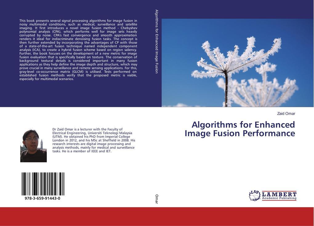 Algorithms for Enhanced Image Fusion Performanc...