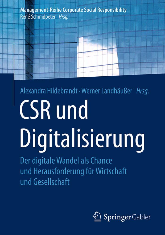 CSR und Digitalisierung als Buch (gebunden)