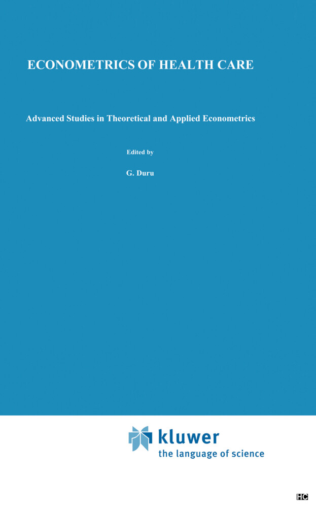 Econometrics of Health Care als Buch
