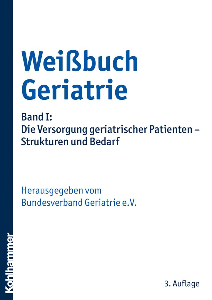 Weißbuch Geriatrie als eBook Download von