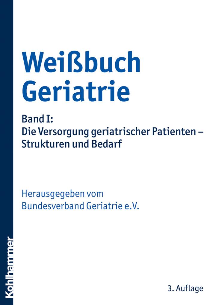 Weißbuch Geriatrie als eBook Download von