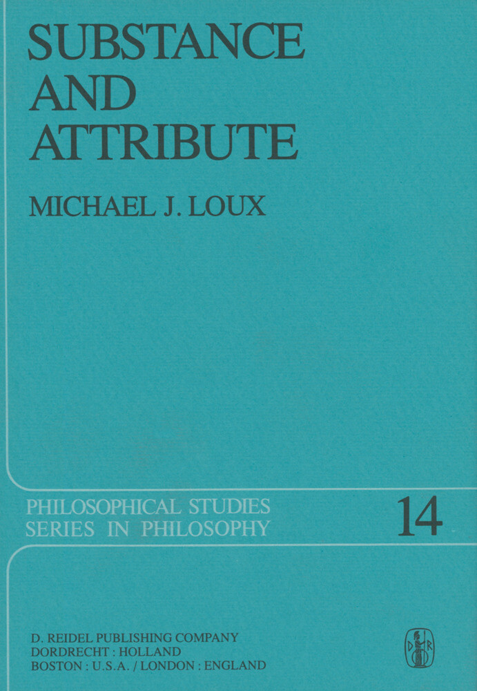 Substance and Attribute als Buch