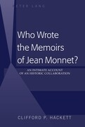Who Wrote the Memoirs of Jean Monnet?