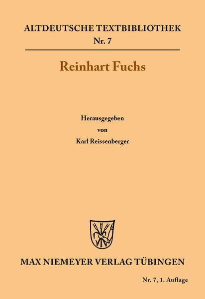Reinhart Fuchs als Buch von Heinrich